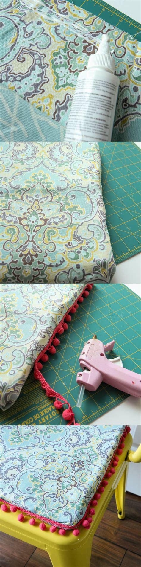 diy cushion cover no sew diy no sew chair cushion 171 momadvice