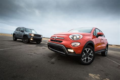 Fiat Jeep 2016 Fiat 500x Trekking Awd Better Or Worse Than The