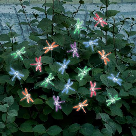 solar string lights decorative solar powered string lights 20 count