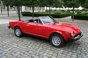 Fiat Pininfarina Spider Fiat 124 Pininfarina Spider Oldtimer Cars Cars