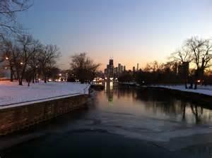 In December File Chicago At Dusk In December Jpg Wikimedia Commons