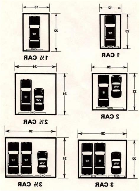 28 average 2 car garage dimensions typical average size garage tammycravit com
