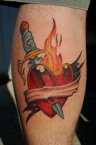 knife tattoo pinterest dagger through heart tattoo pinterest knife through