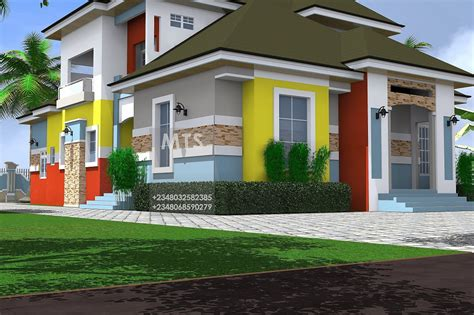 home pans mrs nneoma 3 bedroom pent house design residential homes