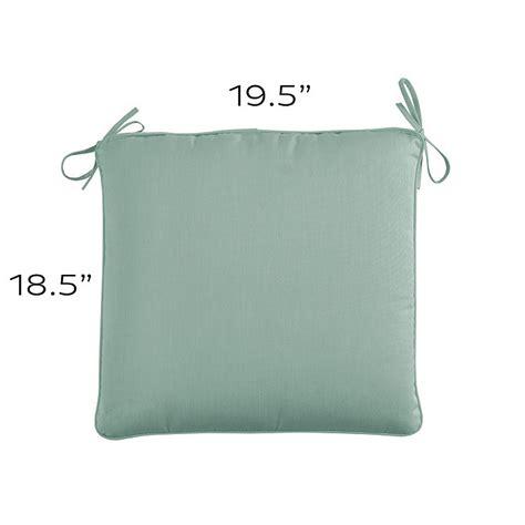 Patio Cushions 19 X 22 Outdoor Chair Cushion A 19 5 X 18 5 Ballard Designs