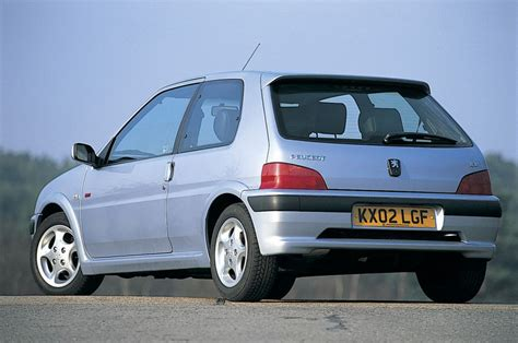 pug 106 gti peugeot 106 gti review history prices and specs evo