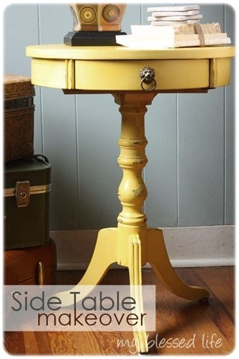side table makeover with chalk paint a interior design
