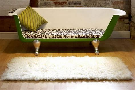 clawfoot bathtub couch furniture repurposed furniture ideas for better house