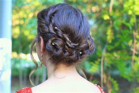 rope twist updo homecoming hairstyles cute girls dance cute girls hairstyles