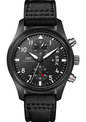 Iwc Top Gun Chrono On Semua Black List iwc pilots chronograph top gun watches from swissluxury