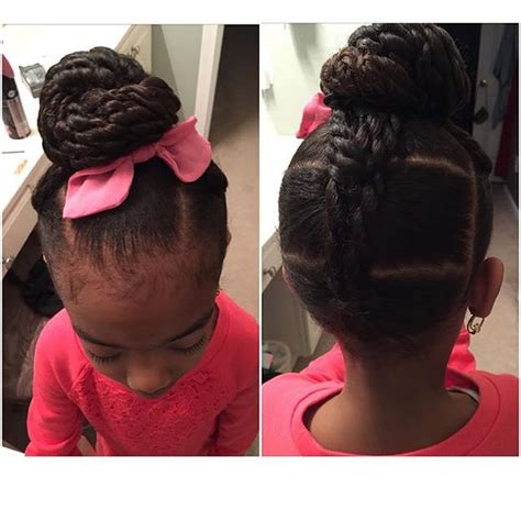 quick and easy braids for ethnic hair teaching little black girls to show their hair love care