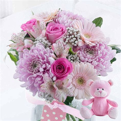 Pop Up Name Flower new baby flowers free delivery pop up vase flying