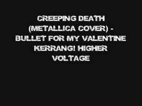 creeping bullet for my creeping metallica cover bullet for my