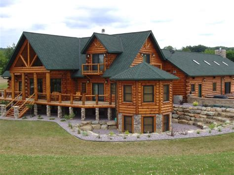 Log Cabin House by Luxury Log Home Designs Luxury Custom Log Homes Luxury