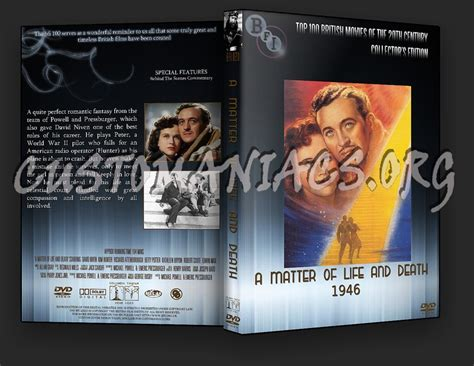 biography dvd list a matter of life and death the bfi collection dvd cover