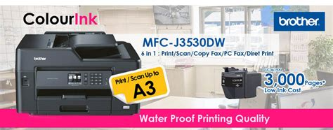 Original Lc3617b Tinta Printer For Mfc J3530dw mfc j3530dw all in 1 with a3 print duplex a3 scan