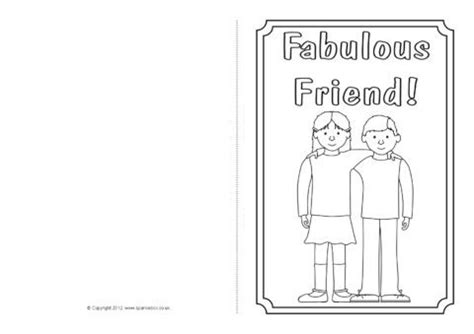 friendship card template free printable friendship card colouring templates sb7793 sparklebox