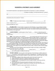 free apartment lease template apartment lease template standard lease agreement template