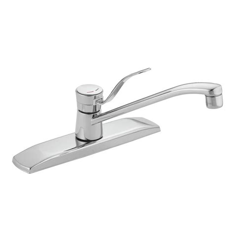moen one handle kitchen faucet repair faucet 8710 in chrome by moen