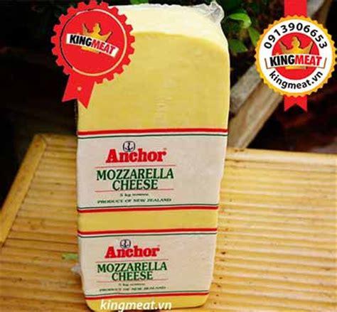 Anchor Mozzarella Cheese 10 Kg phomat mozzarella mua phomai gi 193 rẻ tại tphcm kingmeat vn
