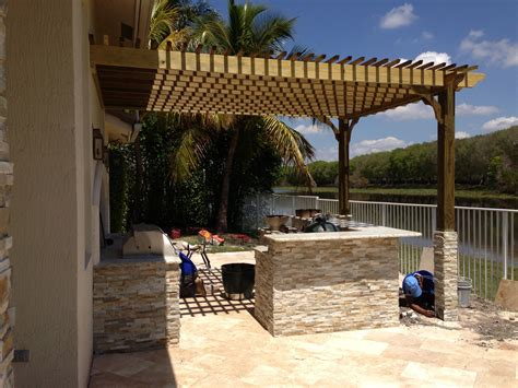 pergola bilder pool patio design inc pergola gallery pompano fl