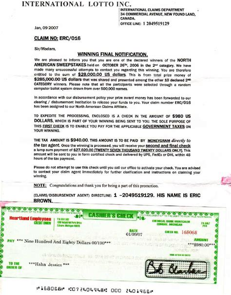 Divorce Letter Lottery Won lottery scams spain lottery scams spain
