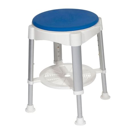 bath stools and benches drive medical bath stool w padded rotating seat