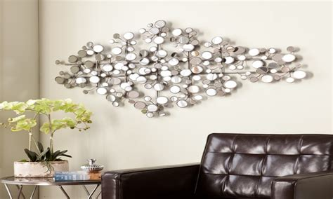 mirrored wall decor large silver mirrors for walls mirror wall