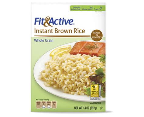 Aldi Background Check Aldi Us Fit Active 174 Instant Brown Rice