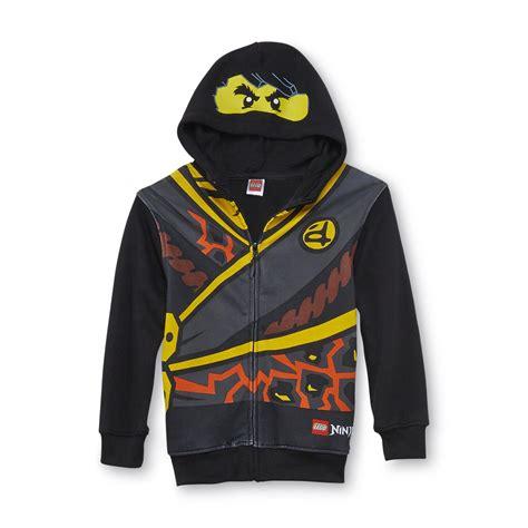 lego boys hoodie jacket ninjago