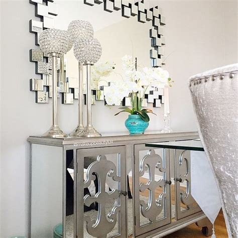 mirrored accent chests for living room ideas home the best mirrored buffets and sideboards on pinterest