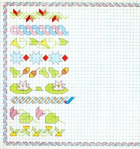 cornici per quaderni a quadretti cornicette per bambini a quadretti varie cornicetta per