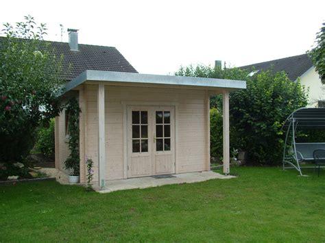 Blechdach Gartenhaus