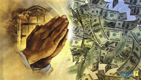 Prayer For Winning Money - how to pray for money howgeneric
