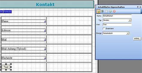 Nof Design Vorlagen Kontakt Formular