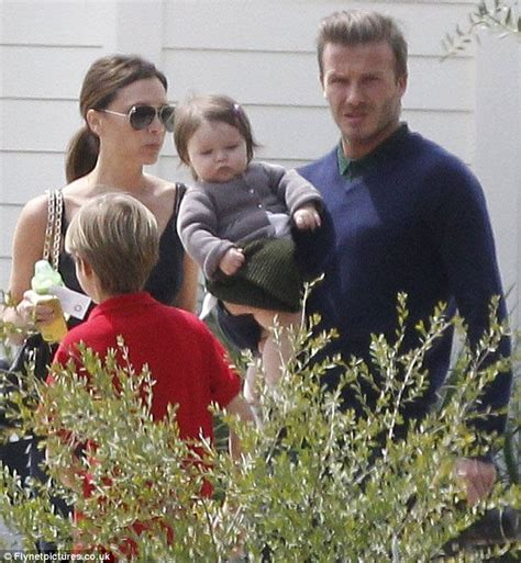 David And Beckham The Easter Egg Heads by Beckhams Celebrate S Easter With Gordon