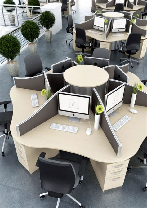 four person office desk call centre desks the designer office