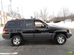 1997 Jeep Laredo Black 1997 Jeep Grand Laredo 4x4 Exterior Photo