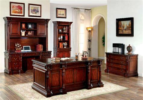 Cherry Wood Office Desk Traditional Cherry Office Desk Fa252 Desks