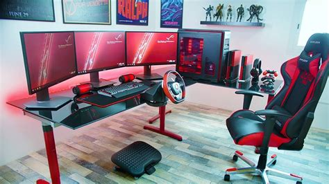 Meja Gaming 19 desain dan model meja komputer gaming lagi ngetrend