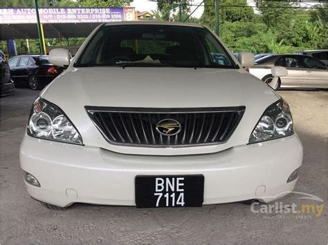 used 2010 toyota harrier 240g toyota harrier 2010 240g 2 4 in kuala lumpur automatic suv