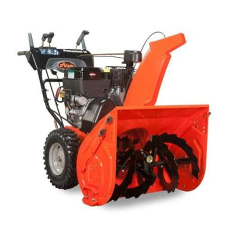 ariens professional series 28 in two stage electric start
