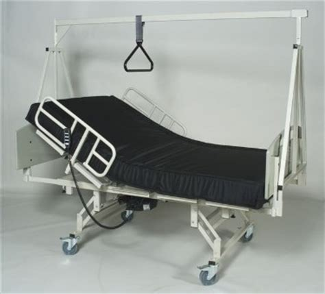 trapeze for hospital bed convaquip heavy duty split frame bariatric hospital bed