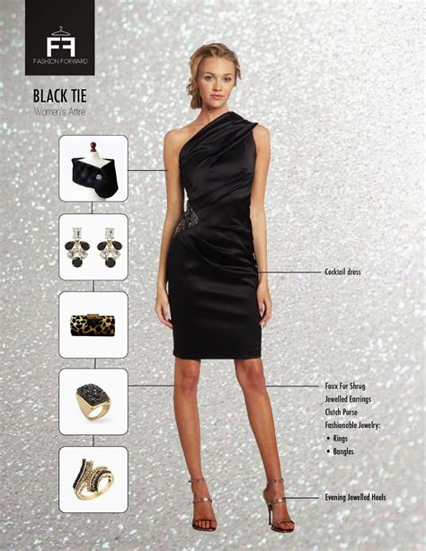 black tie event dress guide for women source http www fashion forward