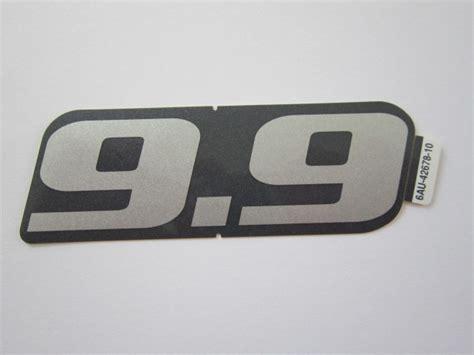 Suzuki Aussenborder Aufkleber by Sticker 9 9pk Klijzing Yamaha Buitenboordmotoren En