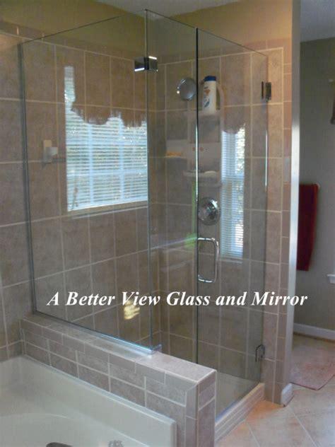 How To Install A Glass Shower Door Frameless Glass Shower Door Installation In Chesapeake Virginia