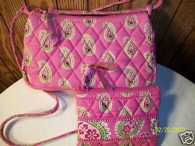 J 32108 Vera Baby Doll 1 weezies vera bradley bermuda pink shoulder bag and coin purse