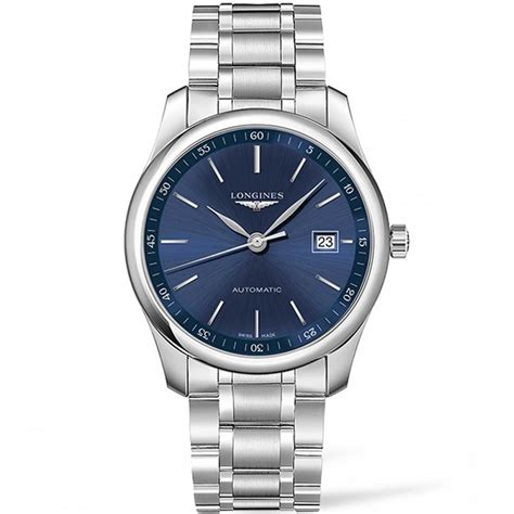 longines s master collection automatic blue