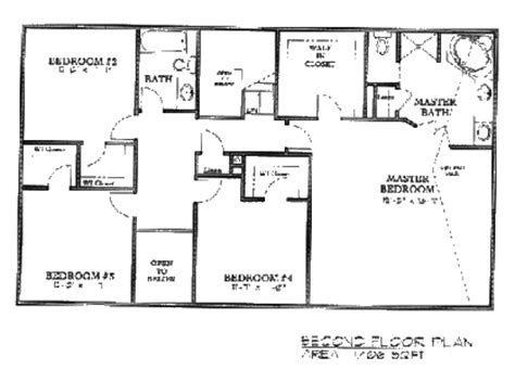 two story floorplans