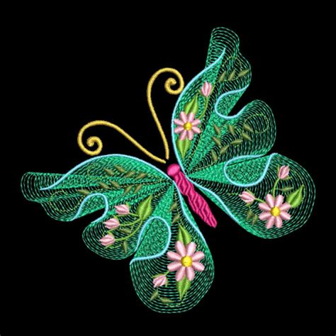 embroidery design viewer software flutterby luv 2 30 machine embroidery designs